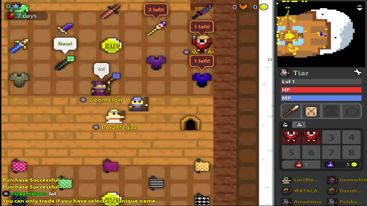 rotmg items for sale