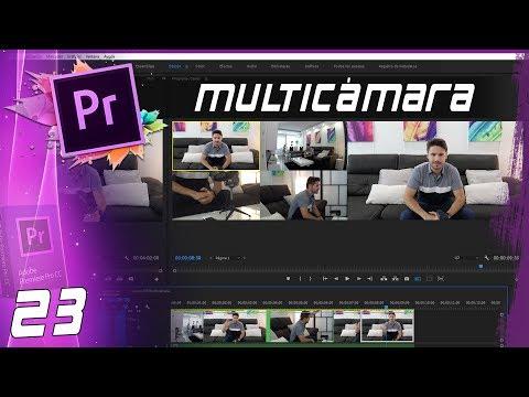 MULTICÁMARA   Cap: 23   Curso Adobe Premiere Pro CC 🎬