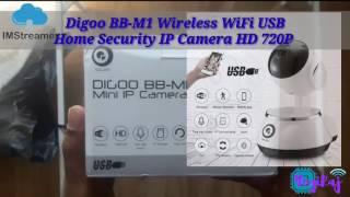 Diggo BB-M1 Wireless Camera for Home!!