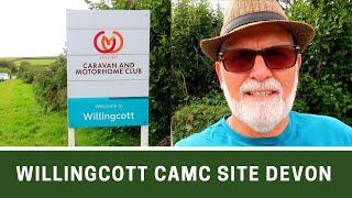 Walk Round WILLINGCOTT CAMC SITE, Woolacombe North Devon | Ep277