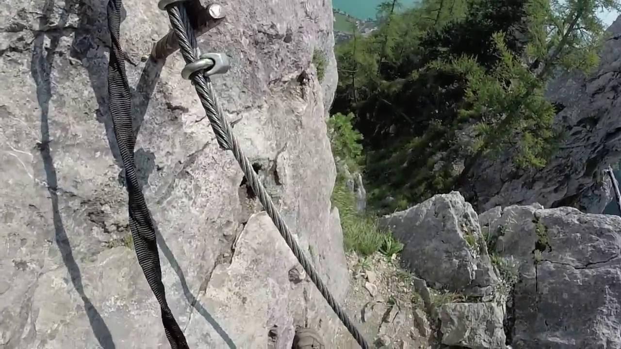 Klettersteig C : Hutelaner klettersteig