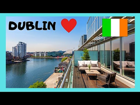 DUBLIN, the beautiful and HISTORIC GRAND CANAL (IRELAND)