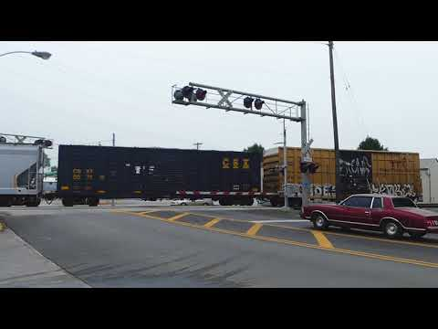CSX And RJ Corman Railfanning In Winchester, KY