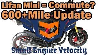 Lifan KP Mini 150cc // Commuter? // 600+ Mile Review