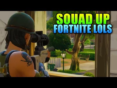 Squad Up - Fortnite LOLs | Gameplay Highlights