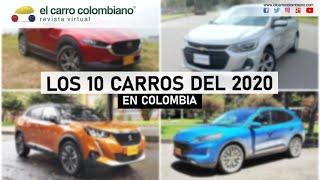 Estos fueron los 10 carros del año 2020 en Colombia