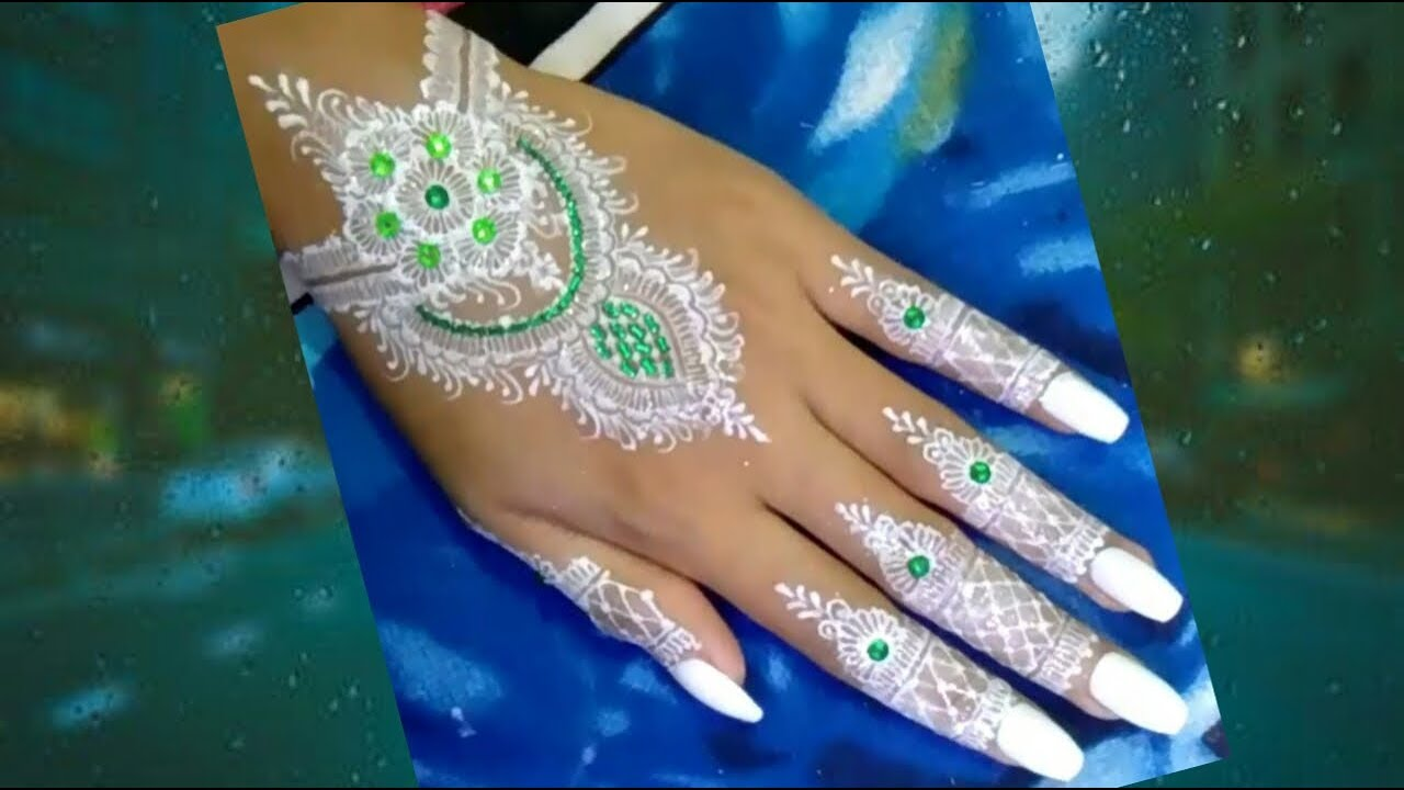 Henna Pengantin White Henna Youtube