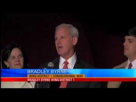 Bradley Byrne Wins U.S. House District 1 Election