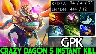 GPK [Puck] Crazy Daġon 5 Instant Kill Build Super Annoying Dota 2