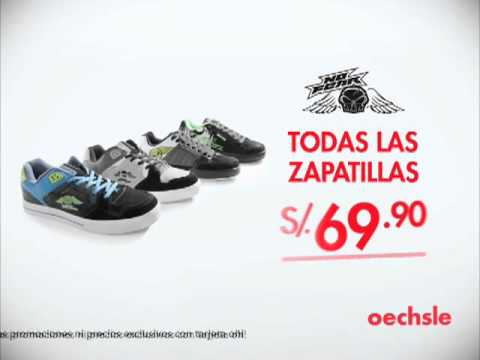 OECHSLE ZAPATILLAS - YouTube