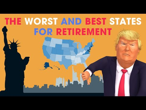 The Worst And Best States For Retirement