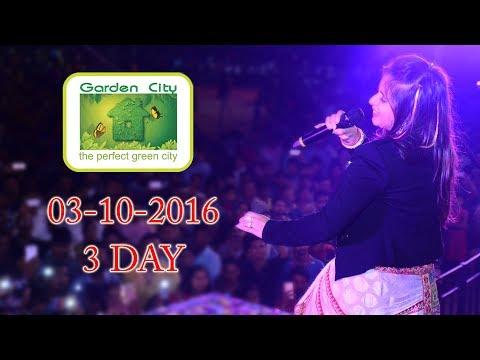Aishwarya Majmudar Live Navratri Garba 2016 | Garden City | DAY 03
