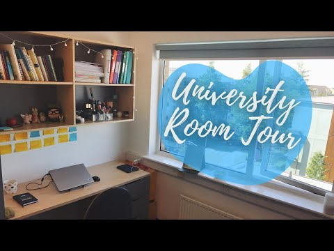 LANCASTER UNIVERSITY ROOM TOUR 2018 | 英国大学宿舍原来长这样?