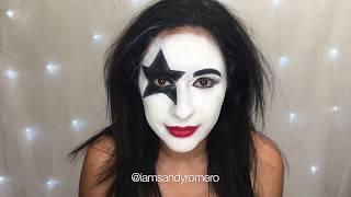 "Paul Stanley ""Starchild""  / KISS Makeup Tutorial"