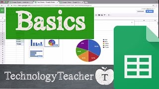 The Basics of Google Sheets for Students and Teachers
