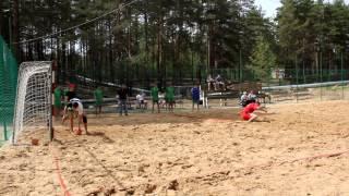 Пляжный гандбол пенальти Молния