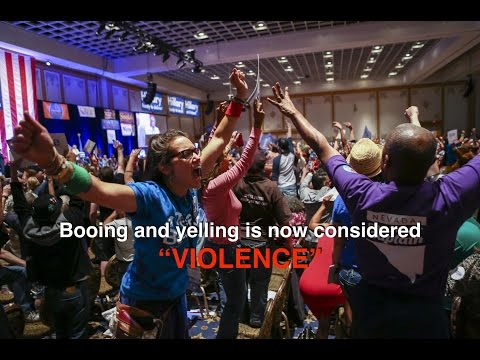 "Media Responds To ""Violence"" At Nevada State Convention"