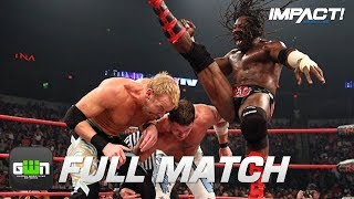 AJ Styles vs Booker T vs Christian Cage (Bound for Glory 2008) | IMPACT Wrestling Full Matches)
