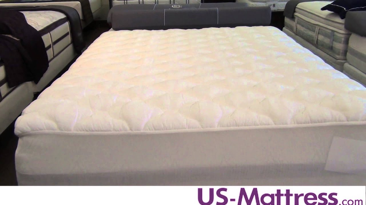 home kitchen cover queen bedsack pad size classic com dp top amazon pillow mattress white
