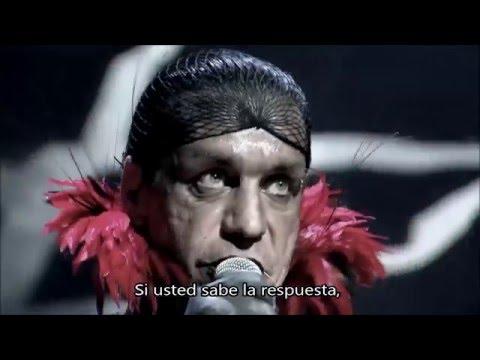 RAMMSTEIN RAMMLIED Subtitulada en español