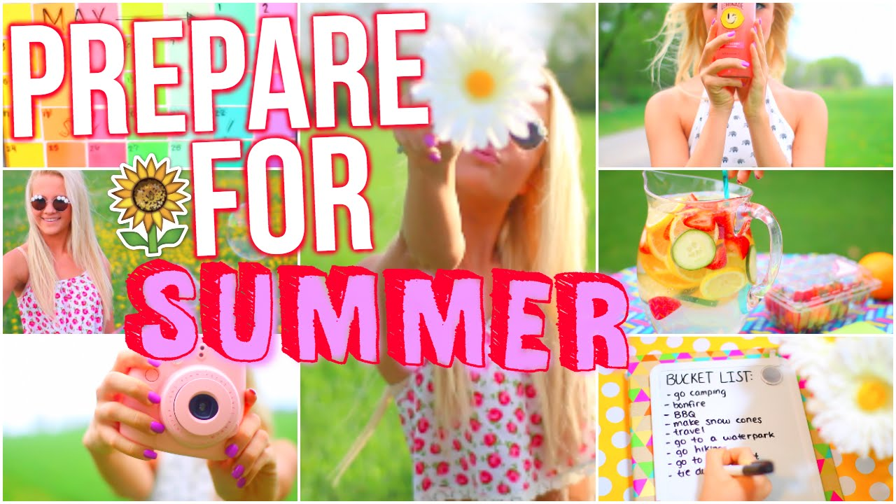 How To Prepare For Summer Diy Summer Inspiration Things