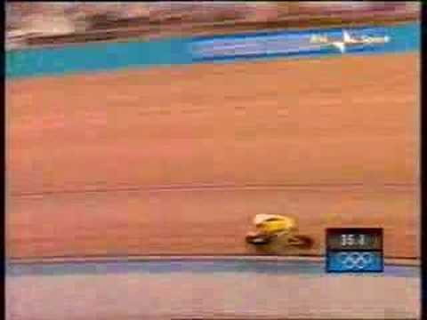 Olympic games 2004- Shane Kelly 1 km time trial