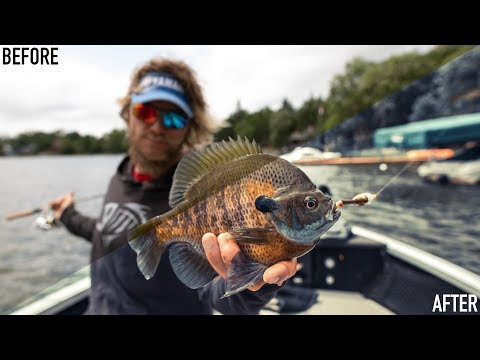 How To Edit Fishing Photos!