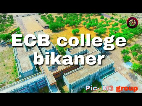 Drone tour ecb college Bikaner#m3 music group