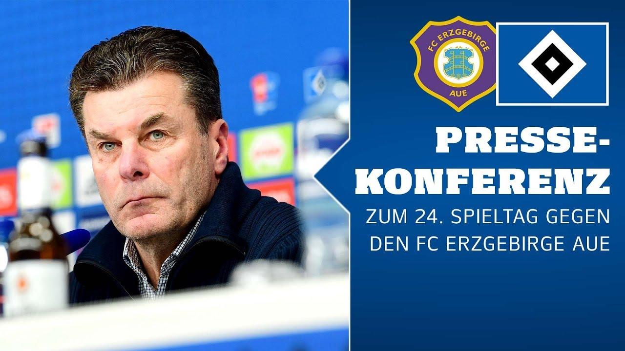RELIVE: Die Pressekonferenz vor dem Auswärtsspiel beim FC Erzgebirge Aue