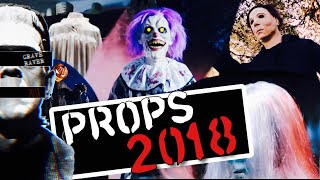 All Spirit Halloween 2018 Props In-Action