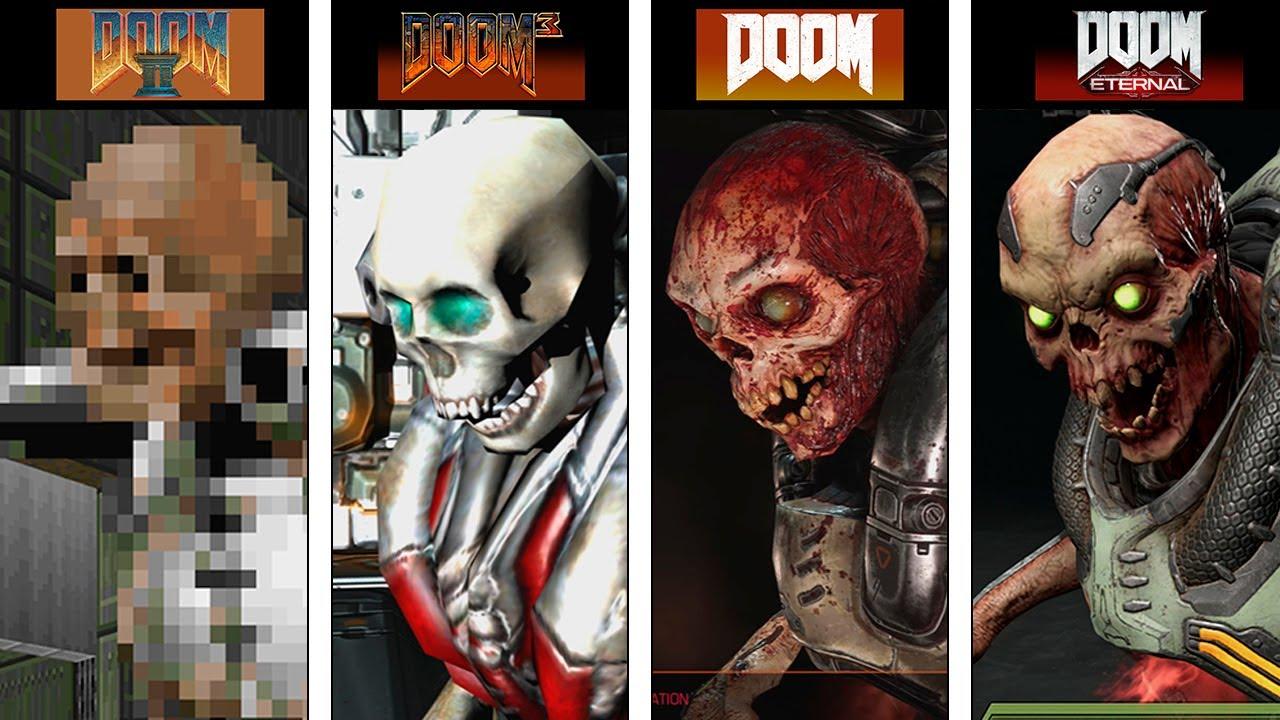 Download DOOM Eternal | Monsters Evolution | 1993 - 2020 | Direct Comparison