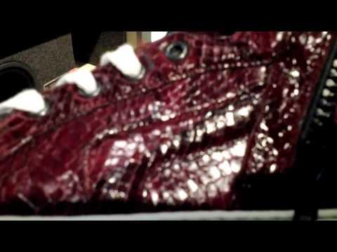 Pierre Hardy snakeskin high top sneakers