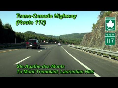 Route 117 (Trans-Canada Highway), Ste-Agathe-des-Monts To Mont-Tremblant, Quebec