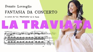 Donato Lovreglio: Fantasia da Concerto based on La Traviata Opera by VERDI