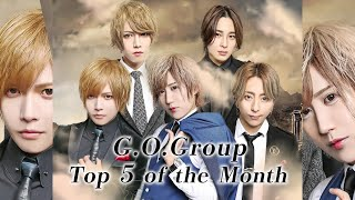【GO Group】2021年8月度売上ランキング TOP5