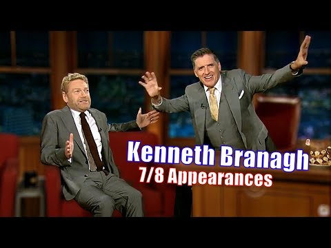 Sir Kenneth Branagh  He Fought A Onearmed Kangaroo  78 Appearances In Chronological Order Si