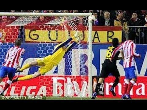 Thibaut Courtois | Atlético Madrid (Chelsea) | Best Saves | 2012/2013