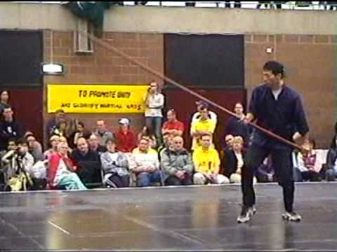 Wing Chun Kung Fu long Pole Form