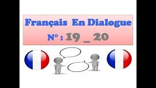 Français en dialogue 19_ 20