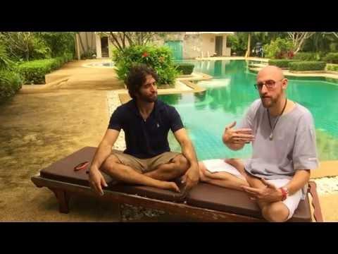 Interview with Tobi Warzinek from Phuket Meditation Center  (after silent meditation retreat)