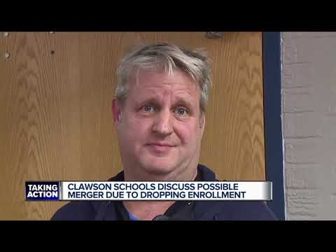 Clawson schools discuss possible merger due to dropping enrollment