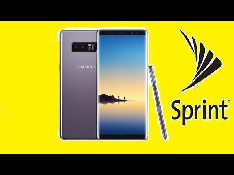 SIM Unlock Sprint Samsung Galaxy Note 8 For Use On Other Carriers!