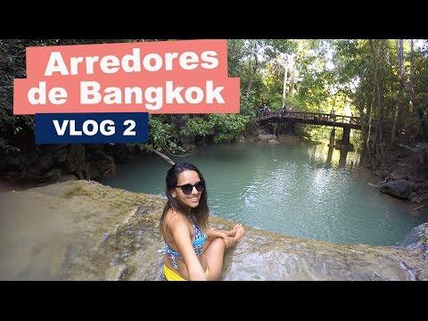 ARREDORES DE BANGKOK: FLOATING MARKET + ERAWAN NATIONAL PARK + RAMBUTTRI ROAD #EPISÓDIO 2