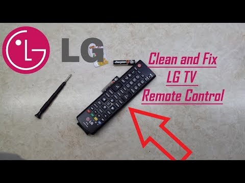 How to Clean and Fix LG TV Remote Control