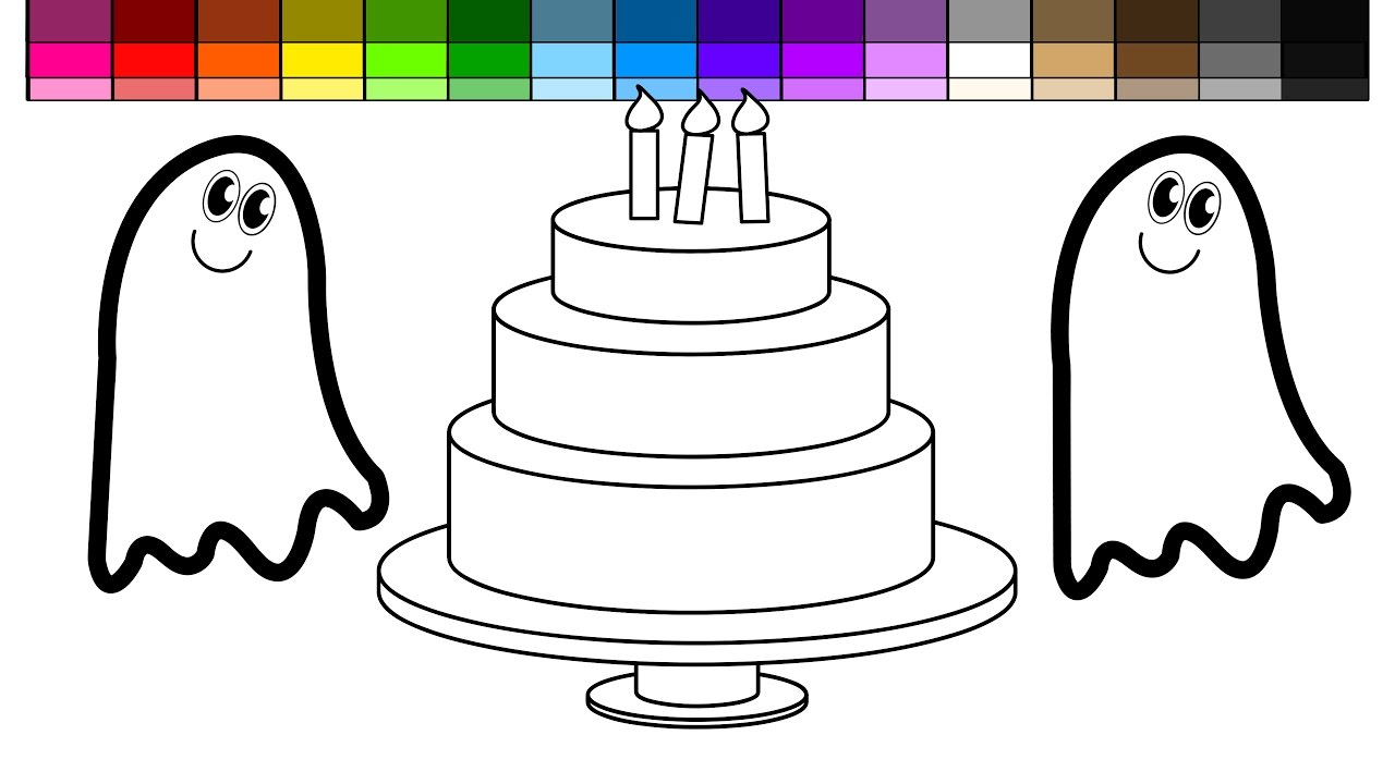 Rainbow Layered Cake Youtube