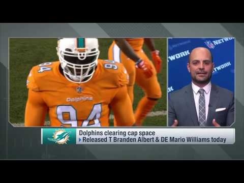 Why the Dolphins decided to cut Mario Williams   Feb 17, 2017