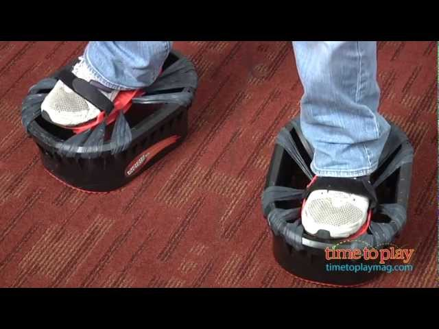 Moon Shoes from Big Time Toys - YouTube