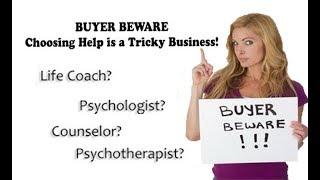 Coaches & Psychotherapists Aren