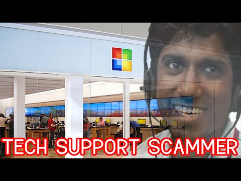 """YOU MUST GO TO THE MICROSOFT STORE"" - TECH SUPPORT SCAMMER"
