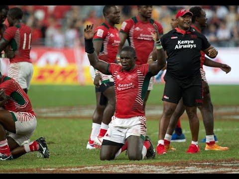 HIGHLIGHTS! Kenya stun Fiji to win Singapore Sevens!